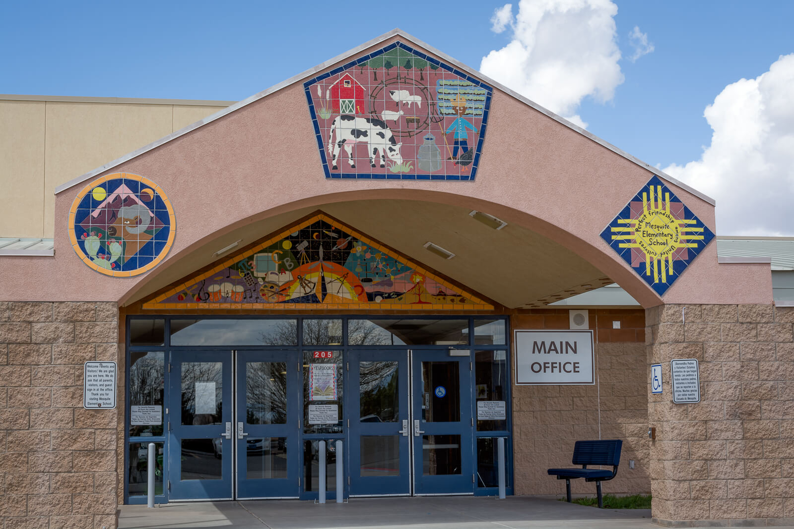 Mesquite Elementary Main Entrance